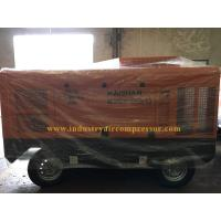 Buy cheap 1 Years Warranty Portable Screw Air Compressor Mobile Air Compressor For Mining product