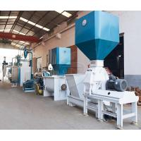 Buy cheap 0.9-10mm Fish Feed Production Machine , Floating Fish Pellet Machine product