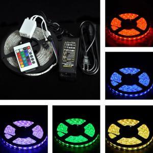 Buy cheap RGB LED strip 5050 300 leds 5m/roll IP65 product