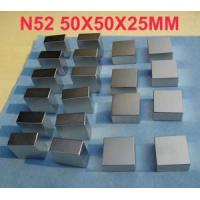 Buy cheap N52 Neodymium Magnet Block 50x50x25mm product