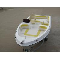 Buy cheap Durable Foldable Table Fiberglass Fishing Boats For Relax , Fun , Tourist product