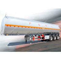 Buy cheap 3 Axles 45000 liters 5 compartments diesel fuel tank trailer for oil transportation product