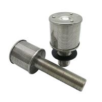 Buy cheap water treatment Wedge Wire Water Filter Nozzle Strainer product