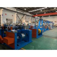 Buy cheap Automobile Wire Rewinding Machine 600M / Min Motor Control Cable Extrusion Line product