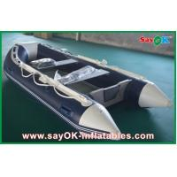 Buy cheap Rigid Hull Fiberglass Small Inflatable Boats With Heavy Duty Aluminum Floor product
