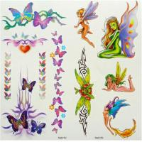 Buy cheap 2012 Novel Flower Water Transfer Tattoo Sticker product