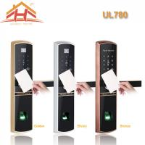 Buy cheap High Efficiency Smart Card Door Lock 200 Templates Fingerprint Capacity from wholesalers
