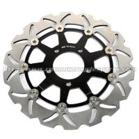 Buy cheap 290mm GSXF 750 Motorcycle Brake Disc Brakes GSX 600 F Aluminum Alloy Steel for Suzuki product