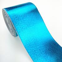 Buy cheap Custom bigh size cheap facotry 3 inch metallic color grosgrain ribbon full pure gold product