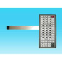 China Flat Tactile Flexible Metal Dome Membrane Switch PVC For Computer Keyboard on sale