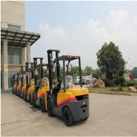 Buy cheap Compact FD35 Diesel Powered Forklift Truck 3500kg Capacity 1070mm Fork Length product