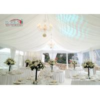 Buy cheap Aluminum Beautiful Luxury Wedding Tents / 1000 Person Tent Large Capacity product
