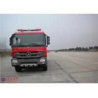 Buy cheap Mercedes Commercial Fire Trucks Max Speed 100KM/H With Pressure Combustion Engine product