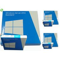 Buy cheap Software Windows Server OEM , Win Server Standard 2012 R2 / Windows Server 2008 R2 product