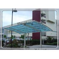 China UV coated polycarbonate corrugated roofing sheet/pc transparent roof sheet for greenhouse on sale