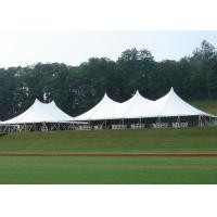 Buy cheap 18 * 24M High Peak Pole Tent , Waterproof PVC Roof Custom Party Tents product