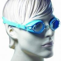 Buy cheap Fashionable Swimming Goggles with Replaceable Noisebridge, 100% UV Protection product