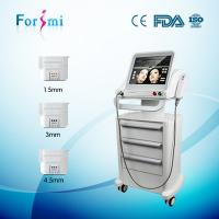 China 2016 Safest wrinkle removal&skin tightening high intensity focused ultrasound hifu machine on sale
