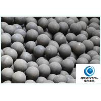 Buy cheap ISO Approved Ball Mill Grinding Balls for Mining , Hyper Steel Grinding Media Balls from Wholesalers