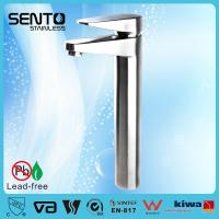 Buy cheap SENTO stainless steel high faucets bathroom basin faucet product