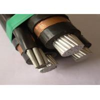Buy cheap Aerial Electrical Wire Overdead Triplex Service Drop Cable / Xlpe Aluminium Cable product
