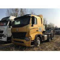 Quality Durable HOWO A7 Tractor Truck , High Performance 420HP Tractor Head Truck For Logistics for sale