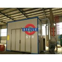 Buy cheap Larger Sandblasting Room / Shot Blasting Booth Car Paint Rust Removing product