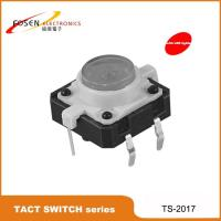 Buy cheap tact switch with led , illuminated tact switch , light tactile switch product