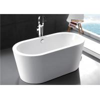 Luxury Freestanding Soaking Bathtubs Solid Surface 2 Years Warranty