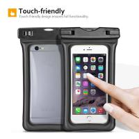 Buy cheap Fully Submersible Waterproof Smartphone Case , Small Waterproof Bag With Air - Filled Frame product