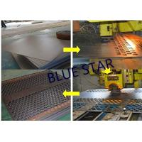 Quality Decorative Perforated Sheet Metal Panels , Perforated Copper Sheets Corrosive Resistance for sale