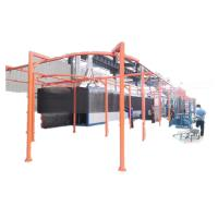 Buy cheap Quality Dust Removal Low Consumption Powder Automatic Electrostatic Painting Spray Equipment Line product