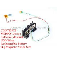 Buy cheap magnetic stripe card reader with 5mm 3-track maghead product