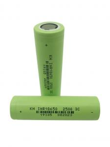 Buy cheap High Power 3.7 V 2500mAh 18650 Lithium Ion Battery product