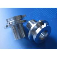 Buy cheap Customized Aluminum CNC Machine Parts For Toolings , Fixtures , Automation Equipments product