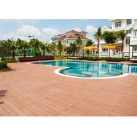 Quality Wood Plastic Composite Waterproof Decorating Decking Flooring for sale