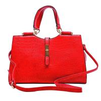 China Holiday Red Leather Handbags Christmas Bags HD24-050 on sale