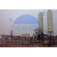 Buy cheap HZS50 Stationary Concrete Batching Plant, Concrete Dry Powder Mixing Plant product
