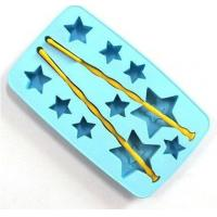 Buy cheap FDA LFGB Approved Eco-friendly Star Shape Silicone Cake Mold, Baking Trays product