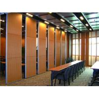 Buy cheap Acoustic Sliding Folding Partition Walls , Anti Noise And Fire Resistant Wall Panels product