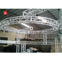 Buy cheap Square Silver 287 / 450 Stage Lighting Truss Aluminum 18m Span For Exhibition from Wholesalers