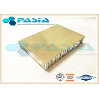 Buy cheap Outdoor Decoration Stainless Steel Honeycomb Panels 40mm - 200m Thickness product