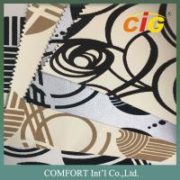 China Home / Textile polyurethane synthetic leather Yarn dying custom colors on sale