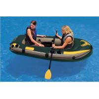 Buy cheap Custom Logo 2 Person PVC Inflatable Boat For Rowing 240 X 135cm product