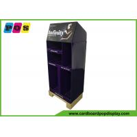 Buy cheap Cardboard Floor Display Stands , Paper Pallet Corrugated Pop Displays For Hair Dryer , Curling Iron FL191 from wholesalers