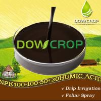 Buy cheap HOT SALE DOWCROP WS@HUMIC ACID NPK PLUS TE LIQUID 100% COMPLETELY WATER SOLUBLE  ORGANIC FERTILIZER  HIGH QUALITY product
