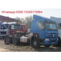 Quality sinotruk 371hp howo tractor truck for sale