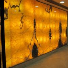 Buy cheap Translucent Honey Onyx Slab Amber Marble Antique Bookmatch Orange from wholesalers