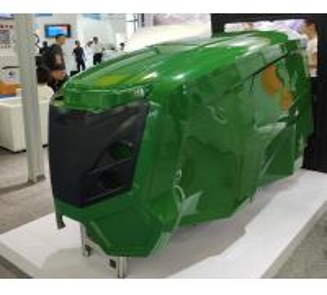 Buy cheap Fiberglass Tractor Parts/Fiberglass Engine Cover/Fiberglass agricultural machinery product