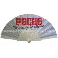 Novelty fabric folding hand fans for wedding favors personalized